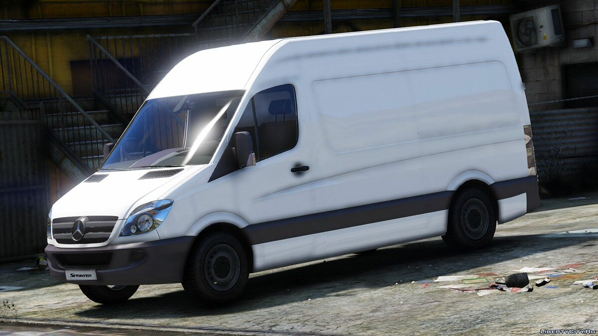 Bus Mercedes-Benz Sprinter 2011 [Add-On] 1.0 for GTA 5