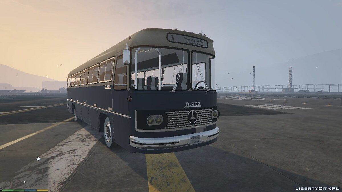 Mercedes Benz O362 Bus [Add-On / Replace] for GTA 5