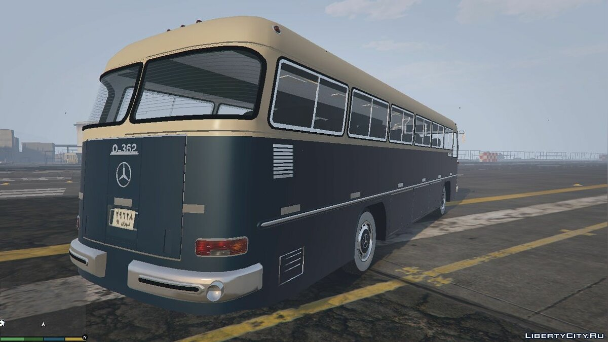 Mercedes Benz O362 Bus [Add-On / Replace] for GTA 5 - screenshot #4