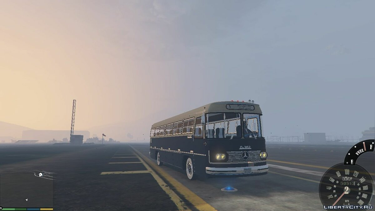 Mercedes Benz O362 Bus [Add-On / Replace] for GTA 5 - screenshot #6