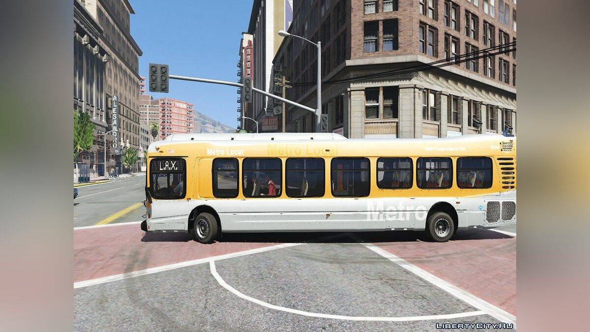 Bus NABI 45C-LFW Compobus 2008-2013 1.0 for GTA 5