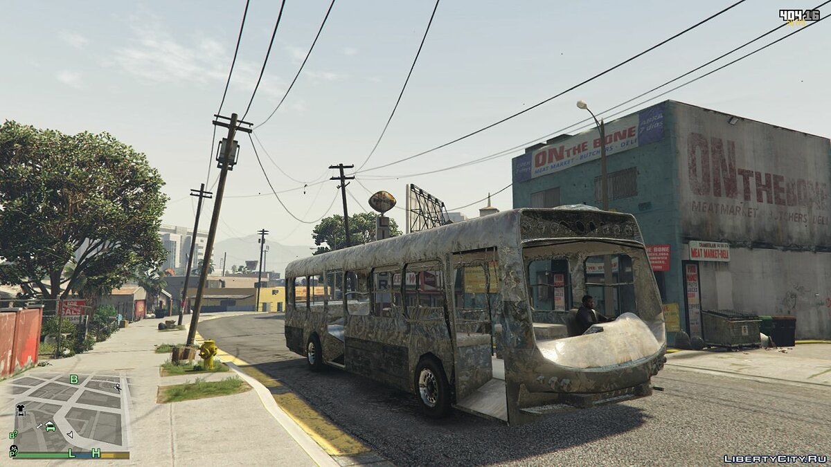 Bus Old rusty bus for GTA 5