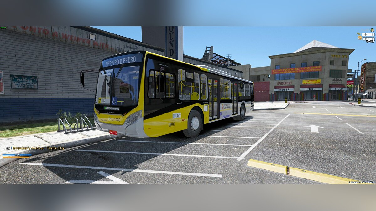 Bus Caio Millennium IV O-500U SP [FiveM] [Replace] for GTA 5