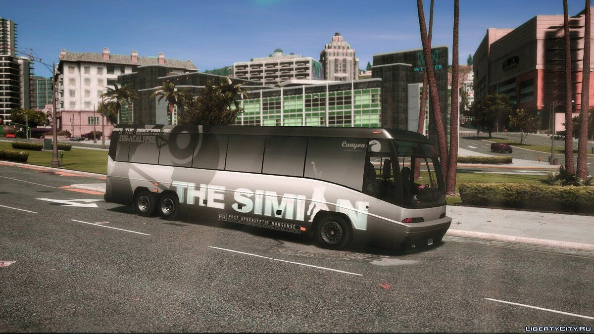Bus Dashound Bus - Wrapped - The Simian for GTA 5