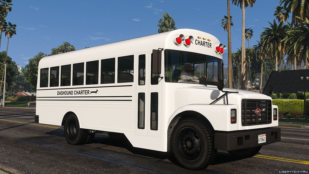 Bus Vapid Bus Classic [Add-On | Replace | Liveries] 1.0 for GTA 5