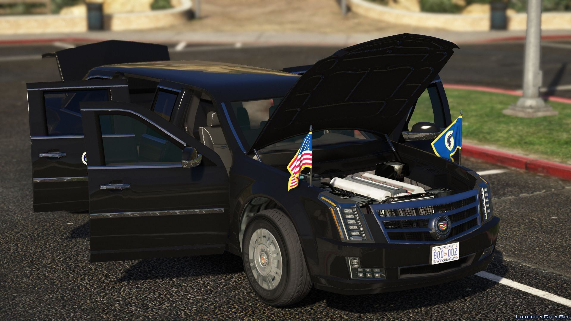 "Cadillac ""The Beast"" Presidential State Car for GTA 5"