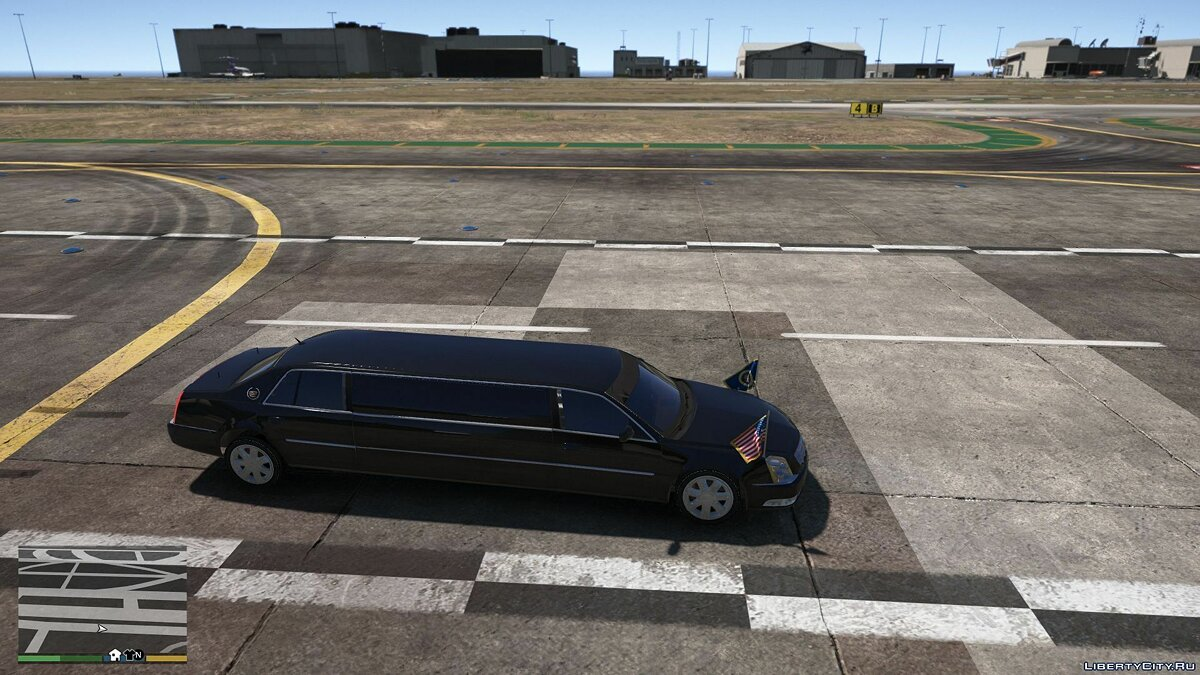 Cadillac car Cadillac DTS Presidental Limo [Addon] [BETA] 1.0 for GTA 5