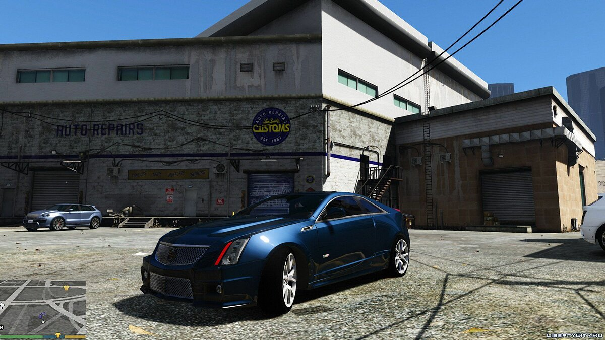 Cadillac car Cadillac CTS-V Coupe 2011 V1.0 for GTA 5
