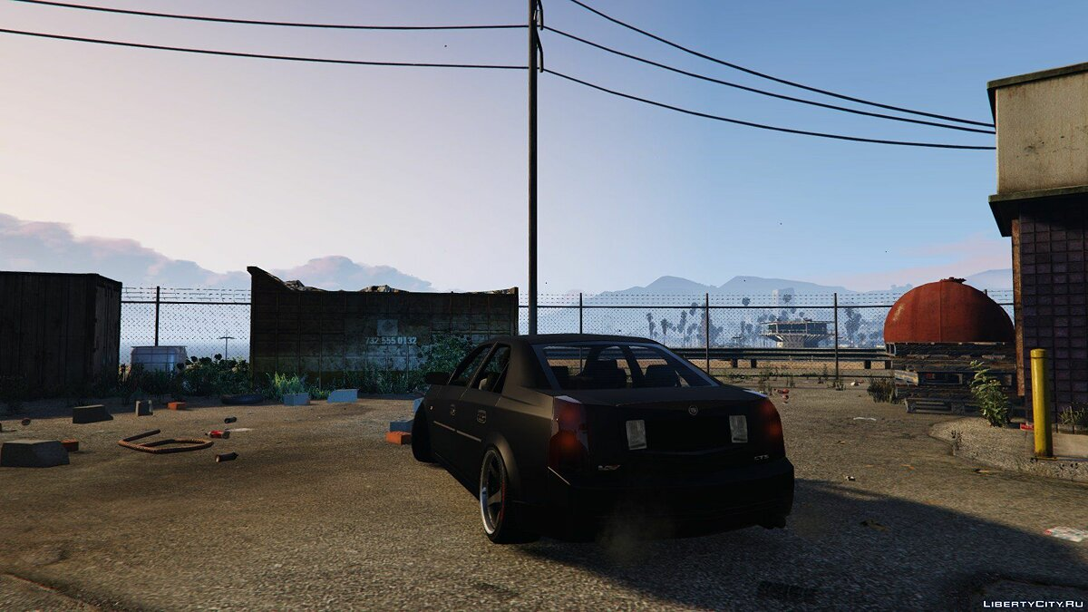 Cadillac car 2004 CADILLAC CTS-V [REPLACE] 1.0 for GTA 5
