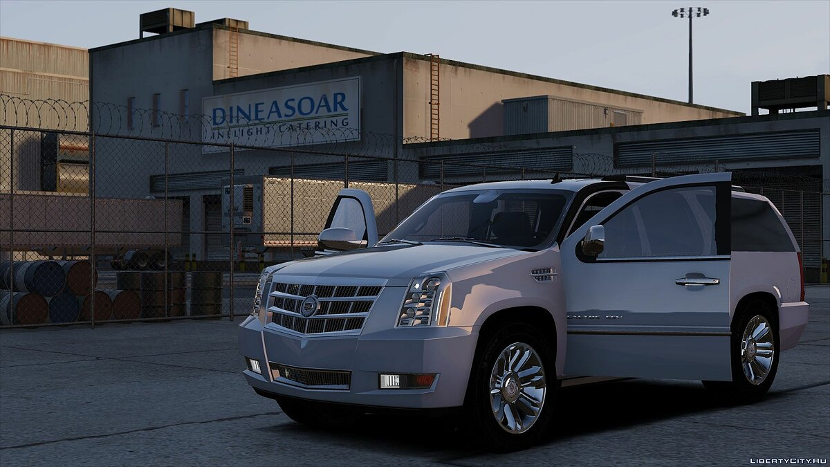 Cadillac car Cadillac Escalade ESV 1.0 for GTA 5