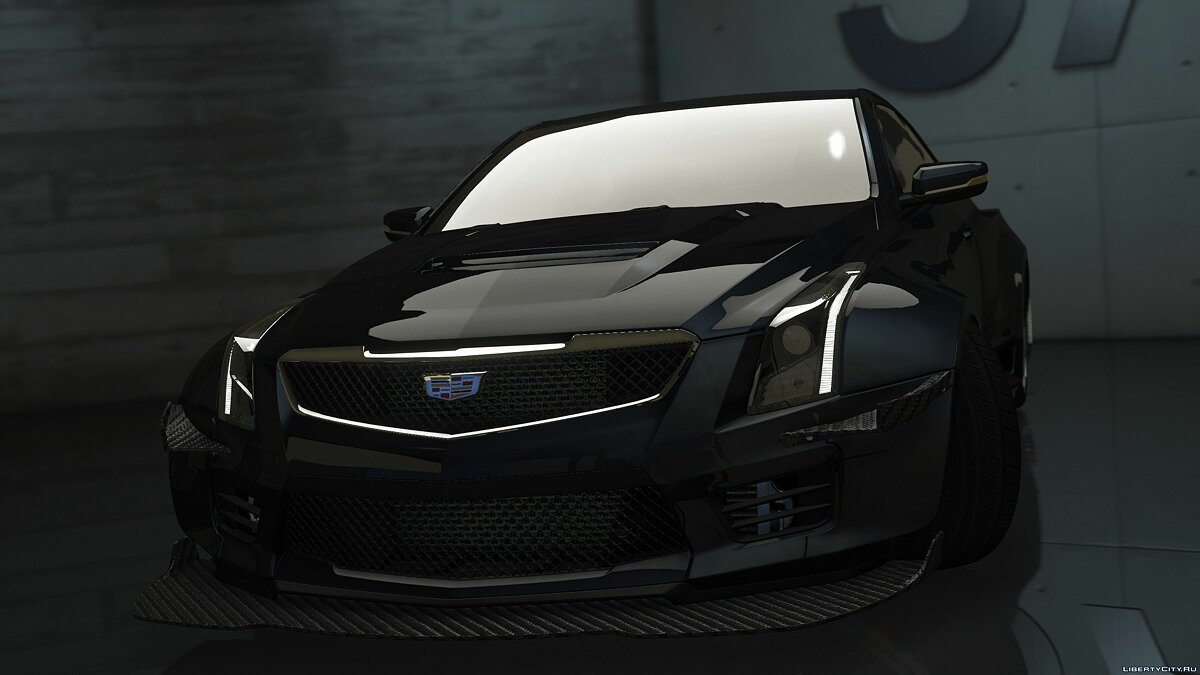 Cadillac car 2016 Cadillac ATS-V Forza Edition [Add-On / OIV / Animated Engine / Livery] 1.0 for GTA 5