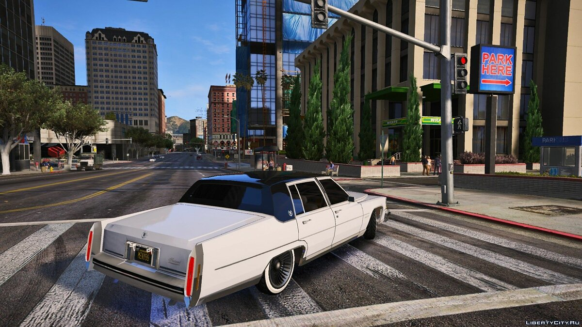 Cadillac car Cadillac Fleetwood Brougham 1985 [REPLACE] for GTA 5