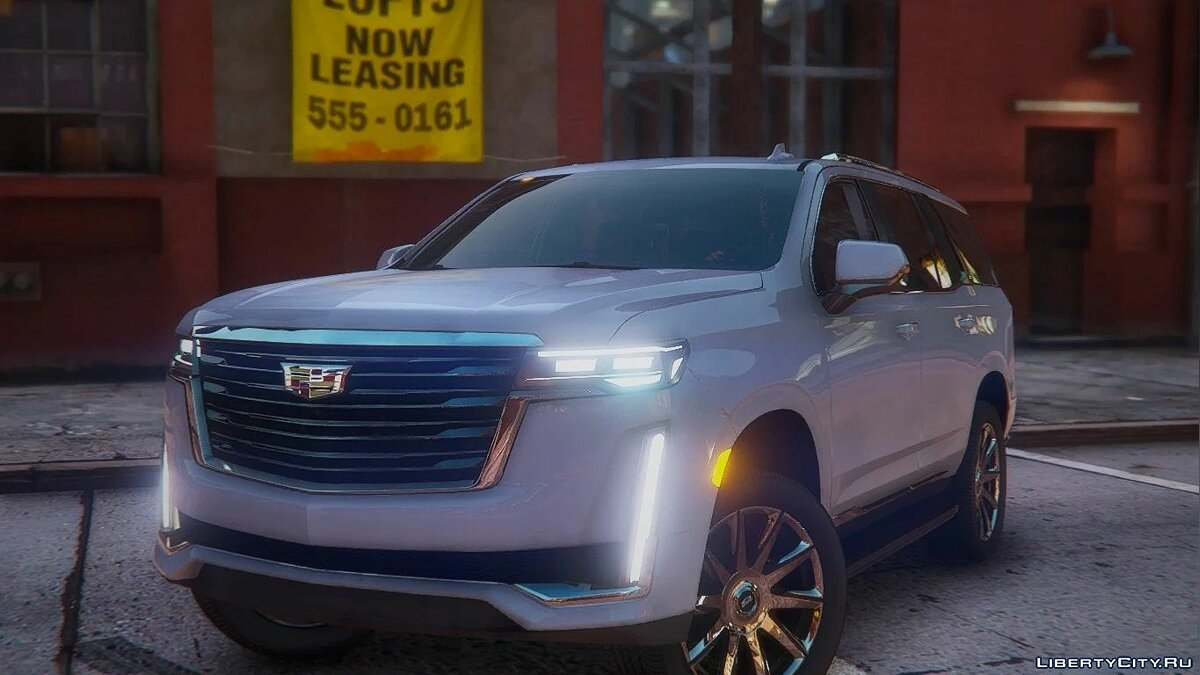 Cadillac Escalade 2021 Next Gen [Add-On / Replace] 2.0 for GTA 5 - Картинка #1