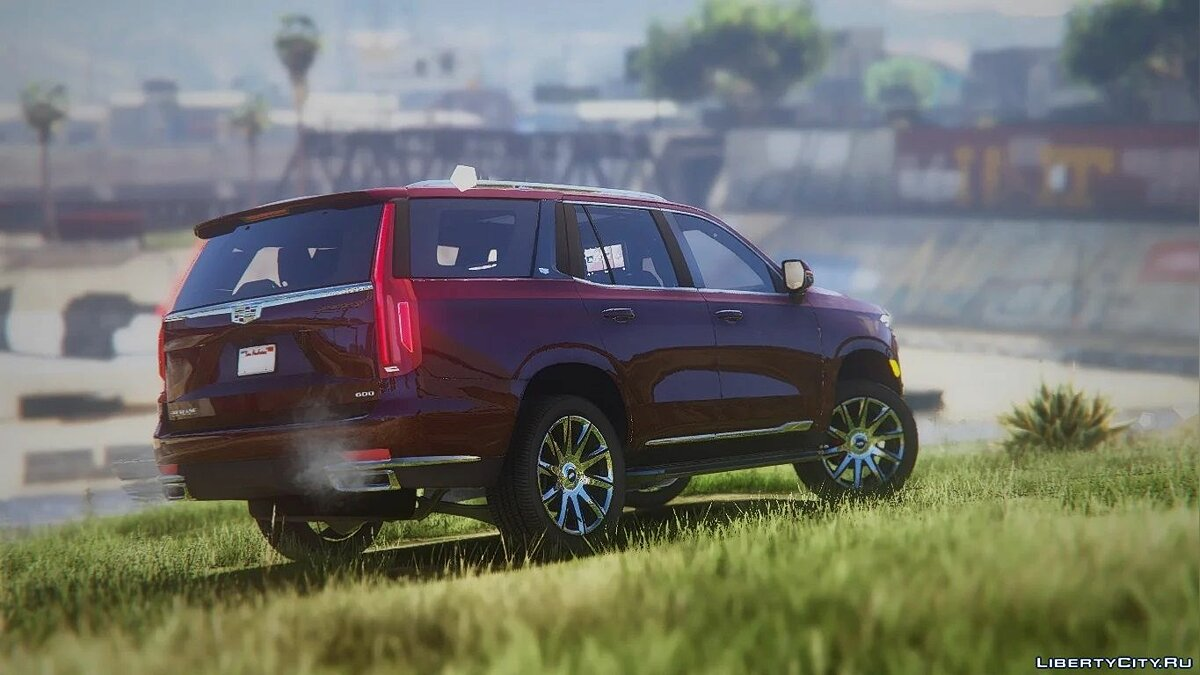 Cadillac Escalade 2021 Next Gen [Add-On / Replace] 2.0 for GTA 5 - Картинка #3