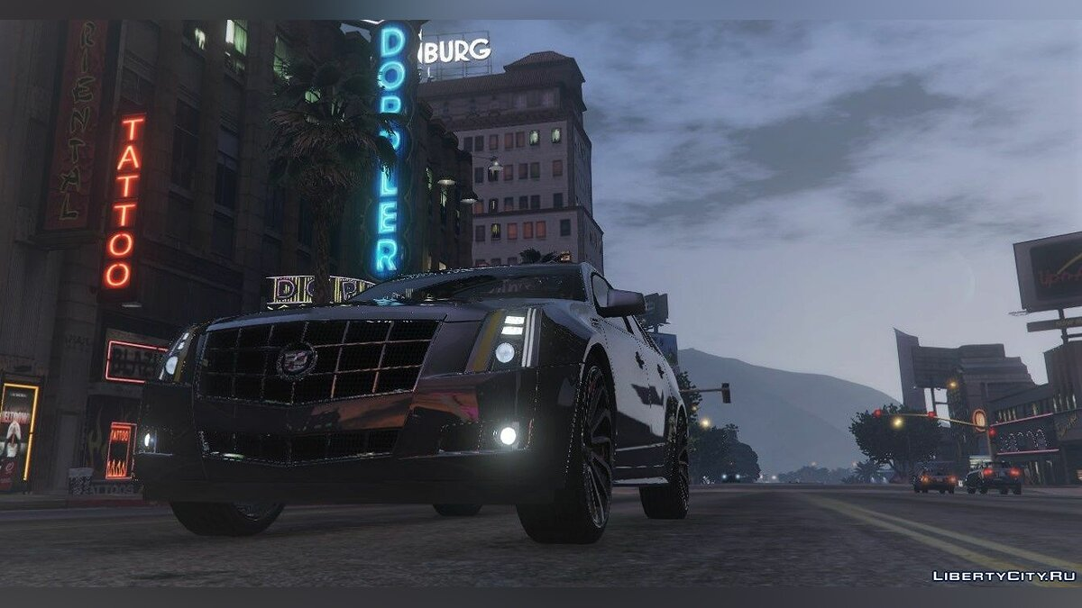 Cadillac car Cadillac CTS Sport Wagon (2010) [Addon | FiveM] 1.0 for GTA 5