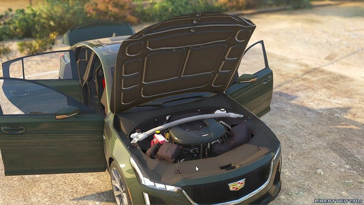 Cadillac car 2020 Cadillac CT5-V Sport [Add-On / Replace] 1.2 for GTA 5