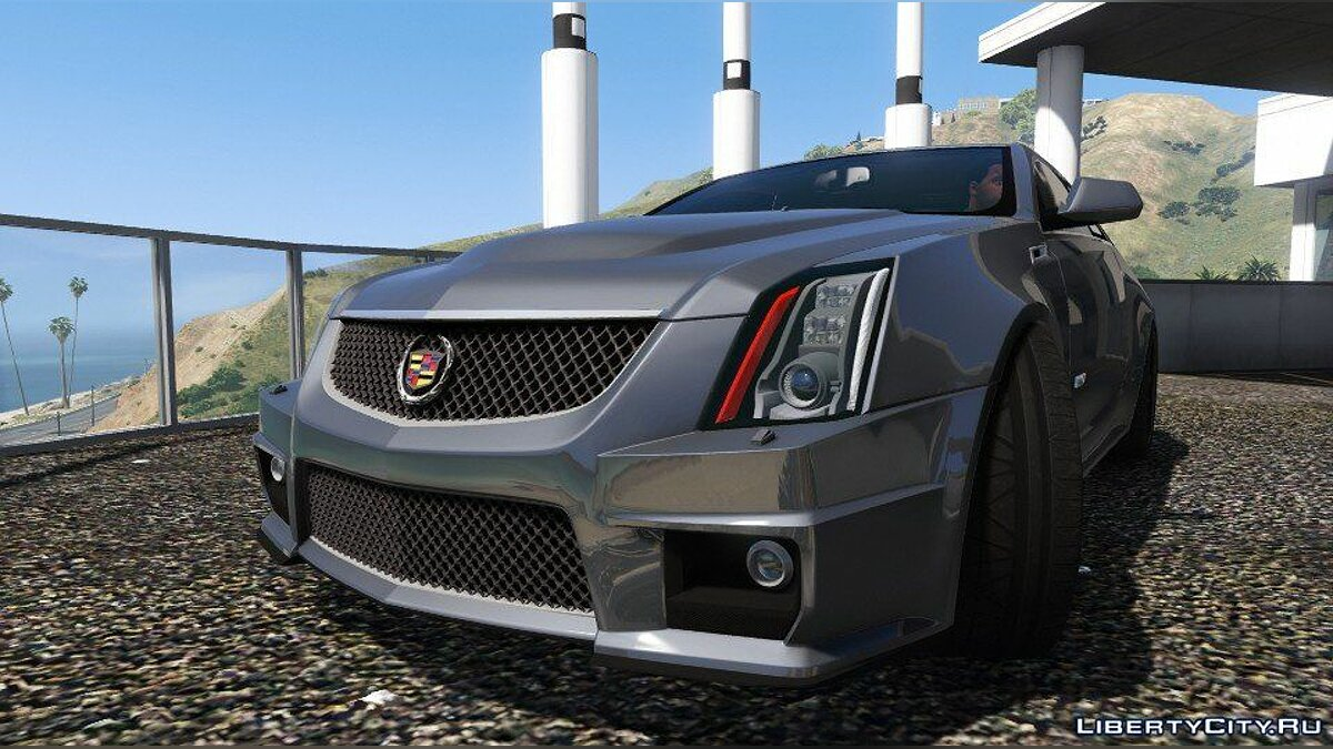 Cadillac car Cadillac CTS-V Coupe 2011 [Add-On] V3.0 for GTA 5