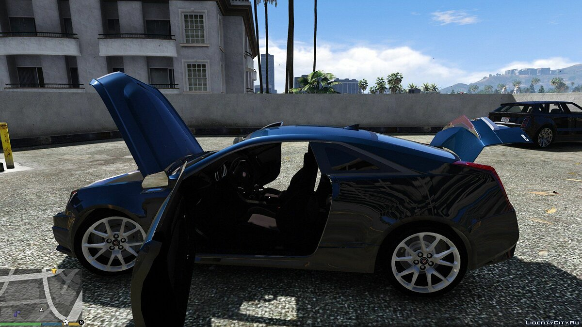 Cadillac car Cadillac CTS-V Coupe 2011 [Add-On] 2.0 for GTA 5