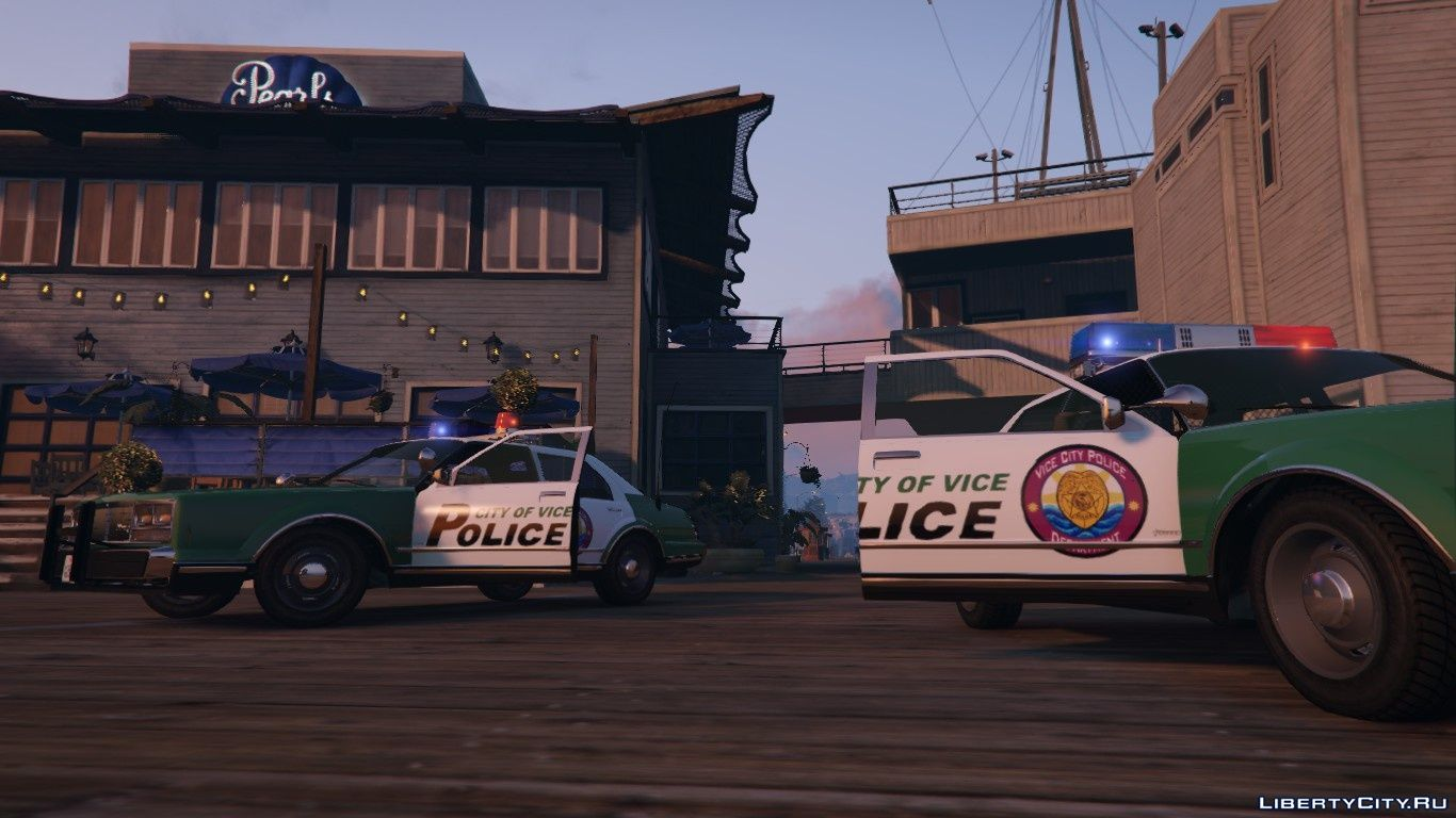 Police cars from Vice City [ADDON] for GTA 5