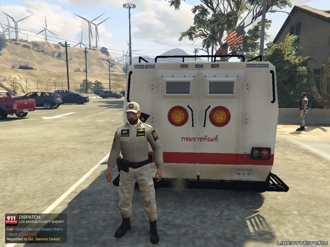 Royal Thai Department Of Corrections Vehicle 1 for GTA 5