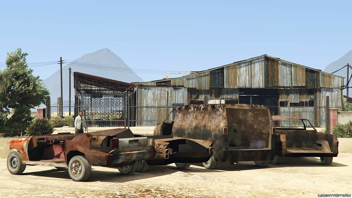 Car packs Scrap Metal Machines [Add-On] for GTA 5