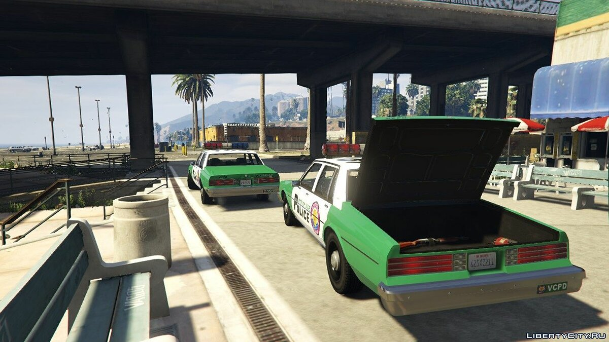 Car packs Police cars from Vice City [ADDON] for GTA 5