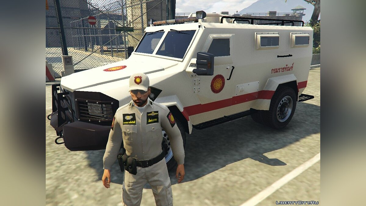 Car packs Royal Thai Department Of Corrections Vehicle 1 for GTA 5