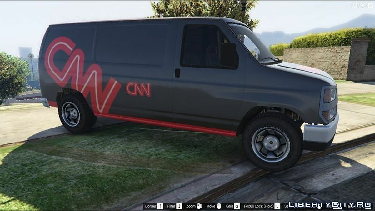 CNN Rumpo Texture for GTA 5 - Картинка #3