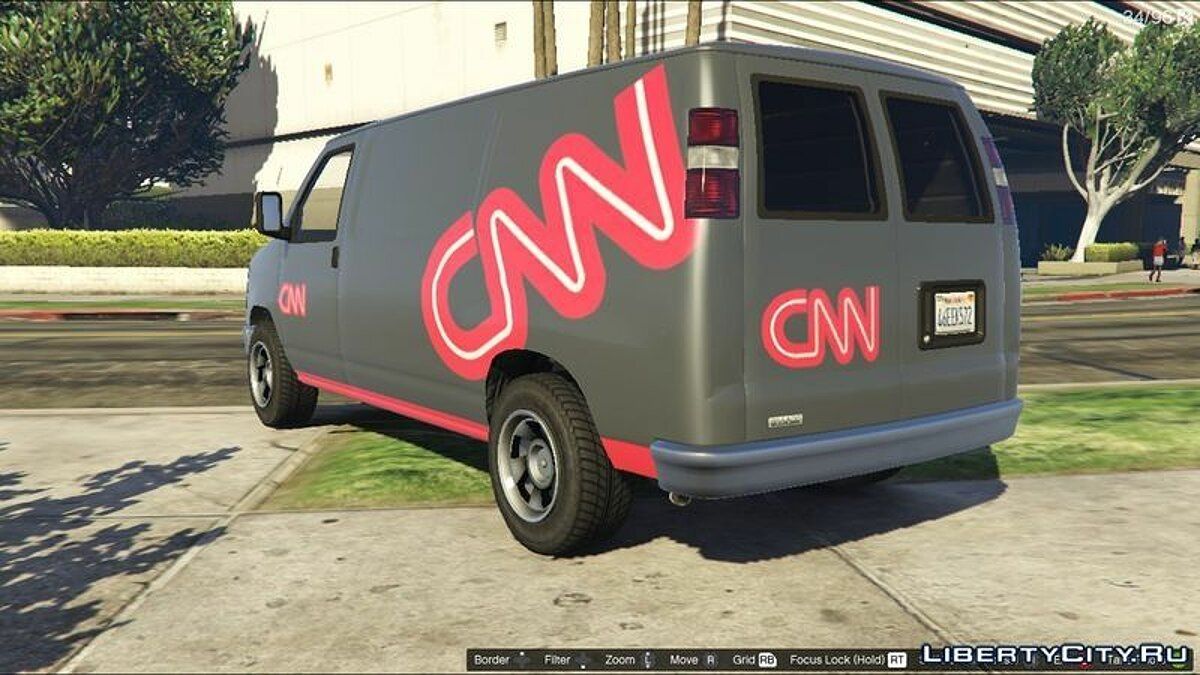 CNN Rumpo Texture for GTA 5 - Картинка #1
