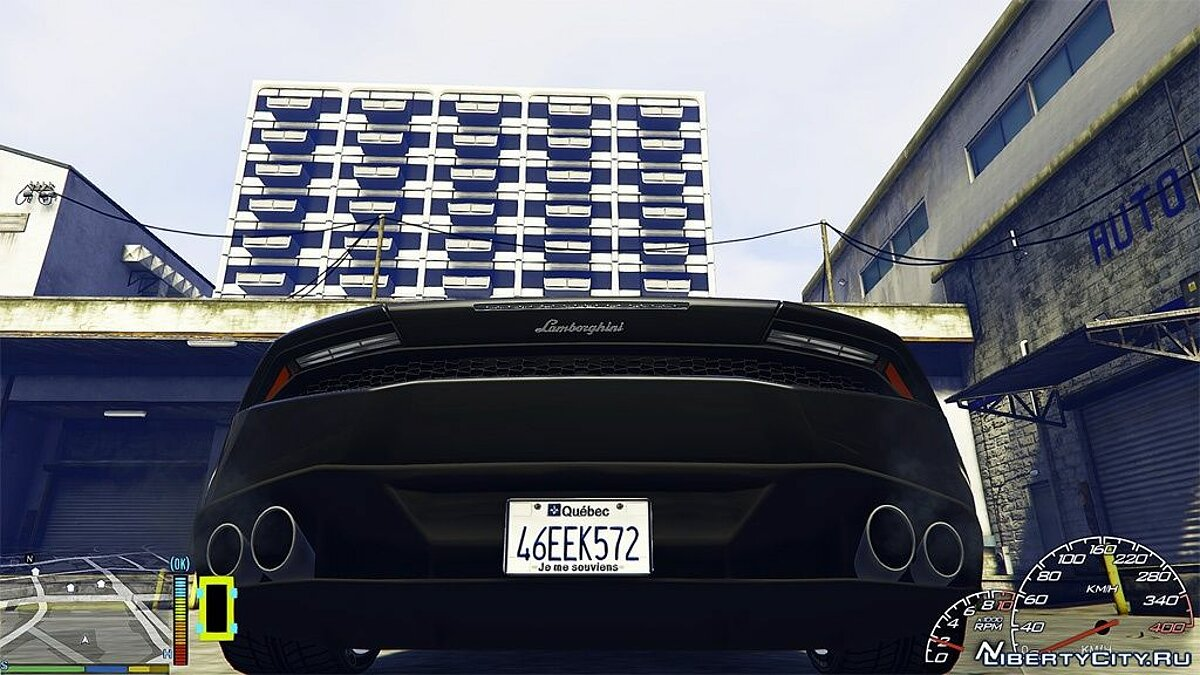 Car texture Quebec License Plate for GTA 5
