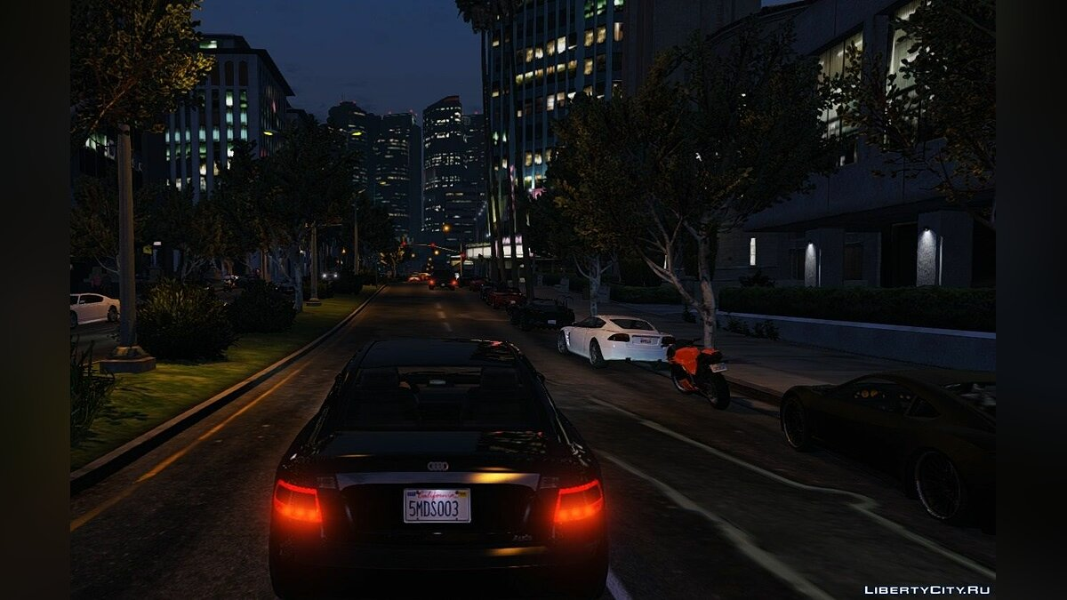 Car texture Tailgater Audi Tail lights 1.1 for GTA 5