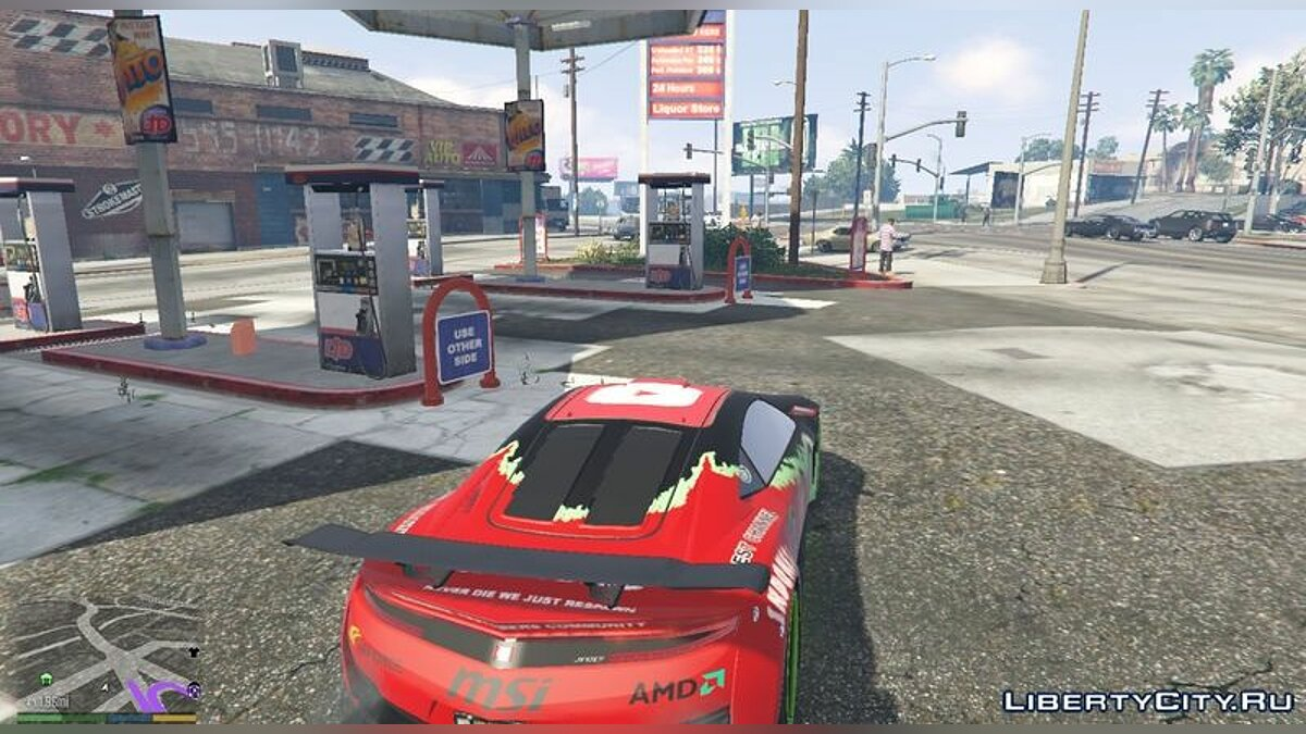 Car texture Jester Youtubers Car for GTA 5