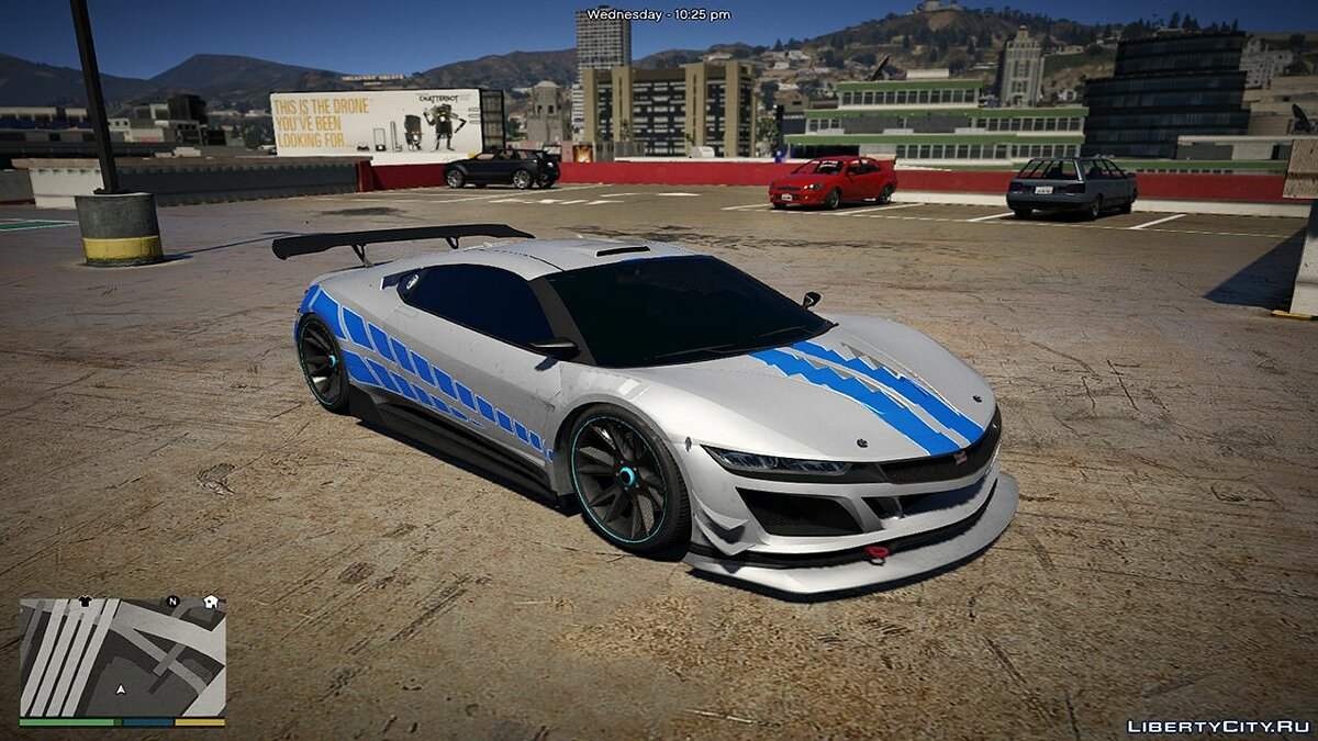 Car texture Jester 2F2F Skyline Livery for GTA 5