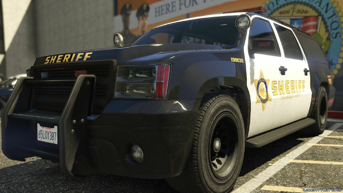 Los Angeles Police / Sheriff - Realism Mod v3 for GTA 5 - Картинка #9