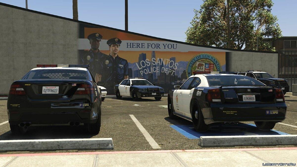 Los Angeles Police / Sheriff - Realism Mod v3 for GTA 5 - Картинка #10