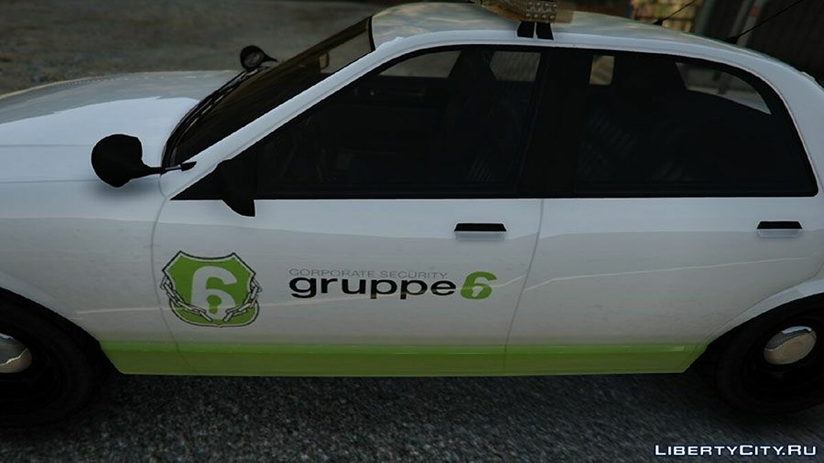 Car texture [Group 6] Security vehicle v0.2 (Pack) for GTA 5