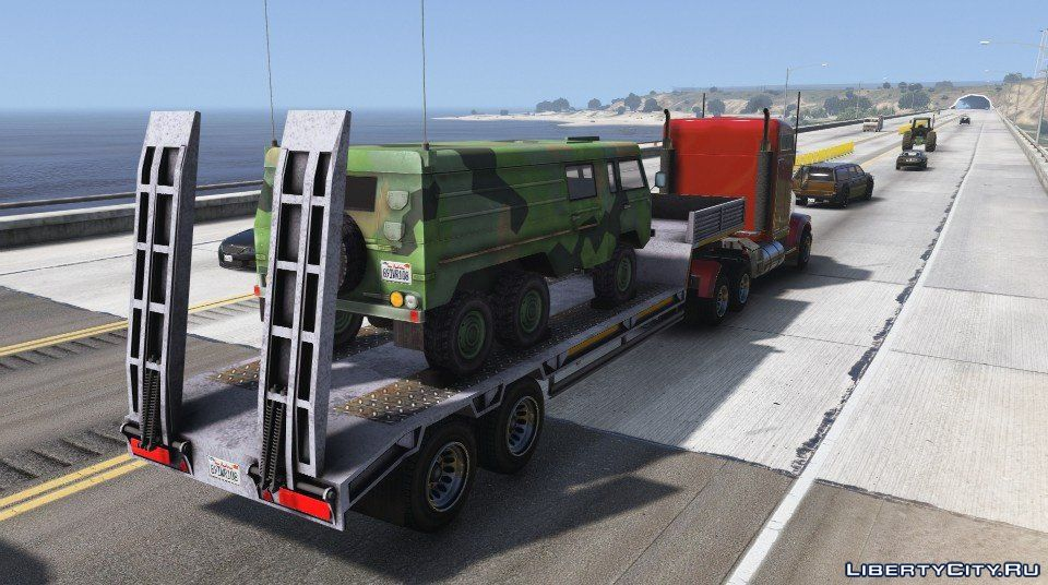 car trailers for gta 5 6 car trailer for gta 5. Black Bedroom Furniture Sets. Home Design Ideas