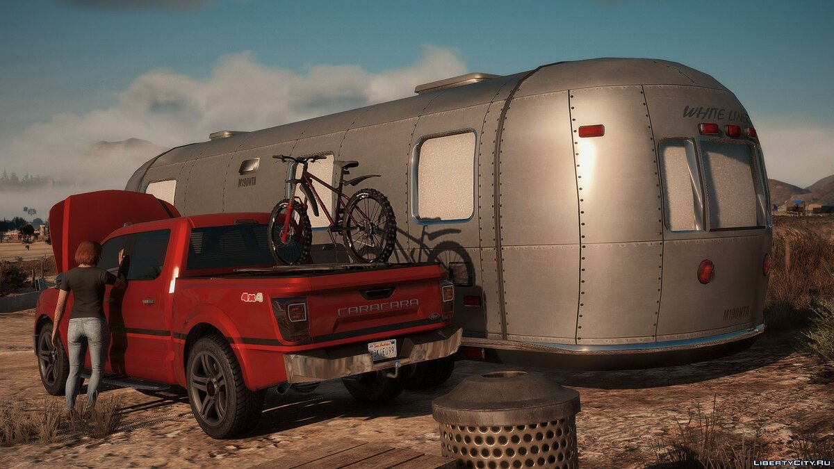 Car trailer Road trailer for GTA 5