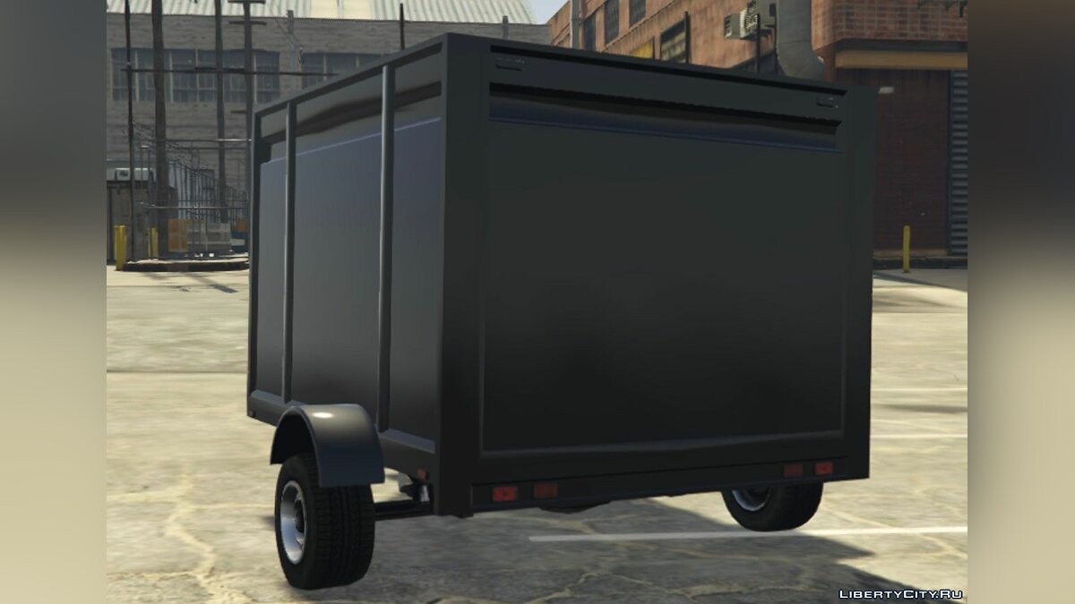 Car trailer Motorcycle Trailer [Add-On] | Fivem for GTA 5