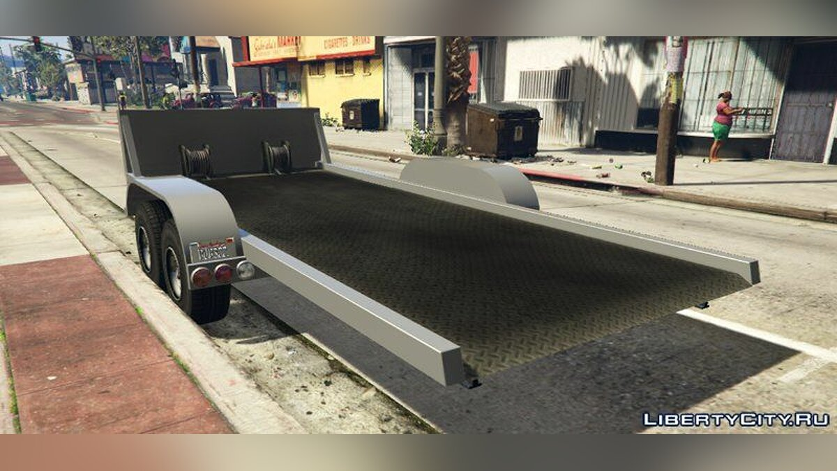 Car trailer Car Trailer [Add-On] for GTA 5