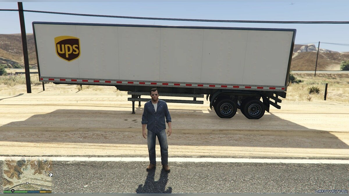 Car trailer Real Trailers 1.0 - Real Trailers for GTA 5