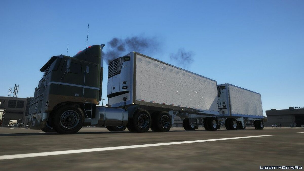 Car trailer Pak trailers from ATS [Add-On] for GTA 5