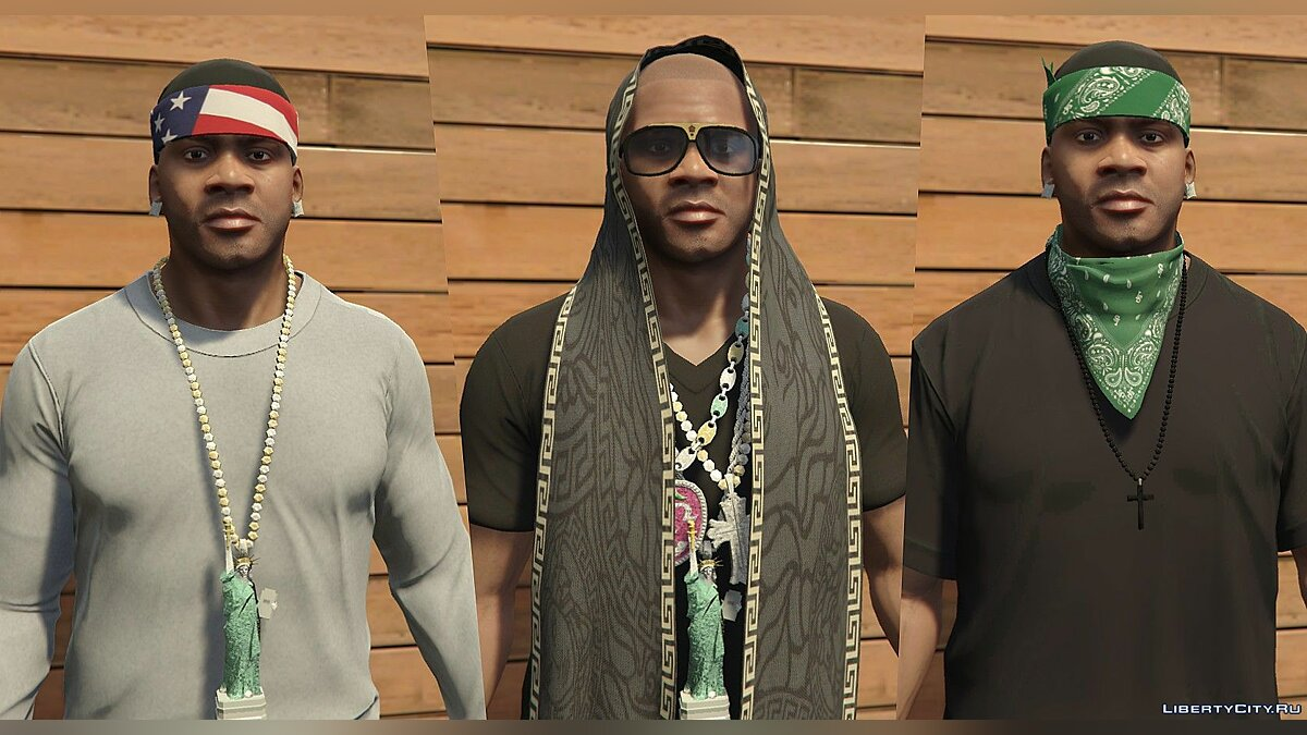 Watches and chains [FRANKLIN | Add-On] Miscellaneous accessories 1.1 for GTA 5