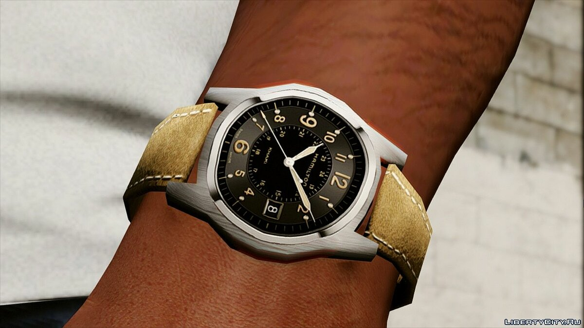 Watches and chains Hamilton Khaki Field Officers Timepiece for GTA 5