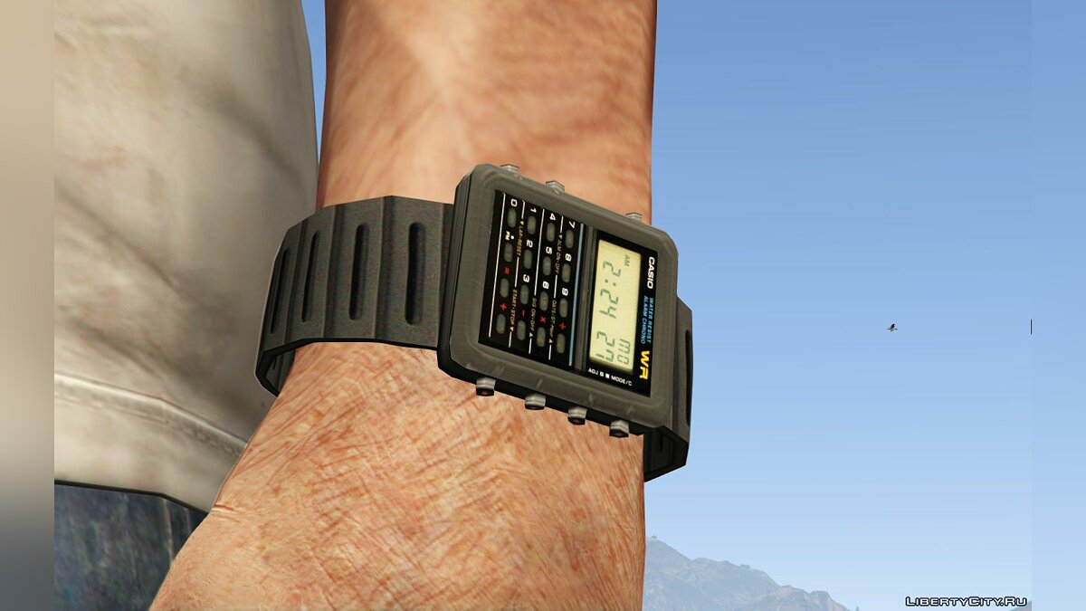 Watches and chains Casio For Trevor for GTA 5