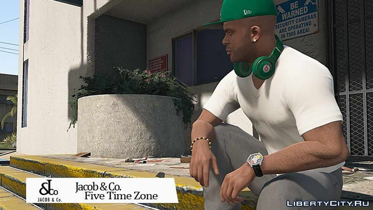 Watches and chains [FRANKLIN   Add-on] Jacob & Co. Five Time Zone watch 1.0 for GTA 5