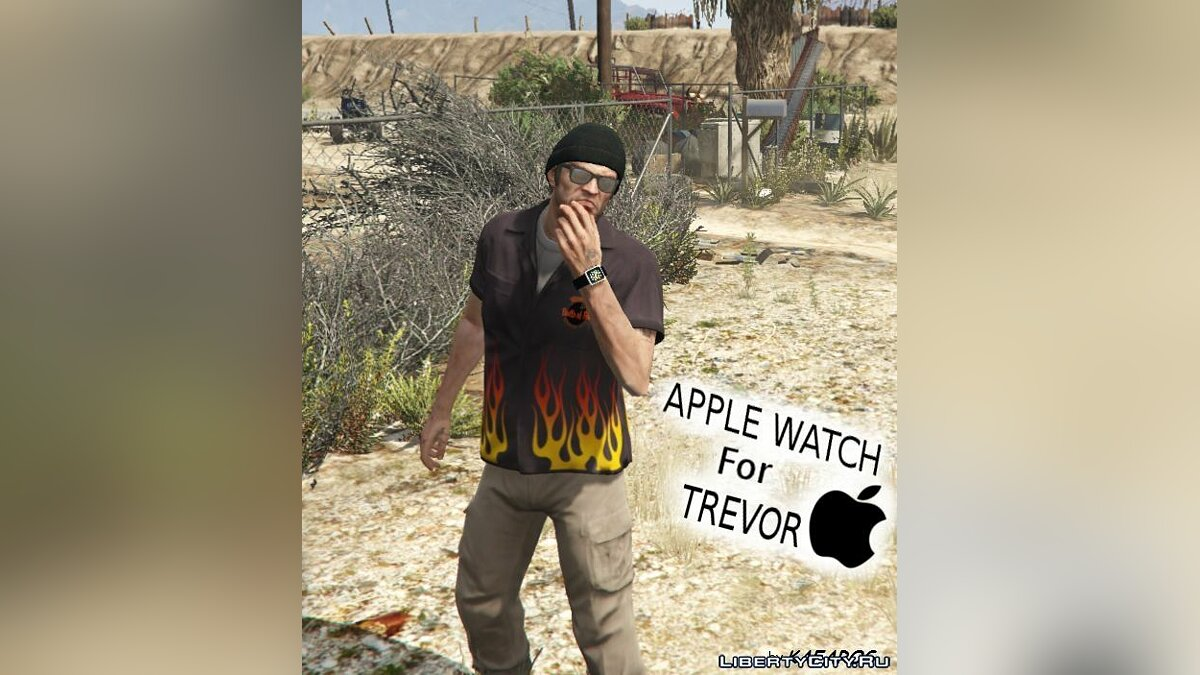 Watches and chains Apple Watch for Trevor for GTA 5