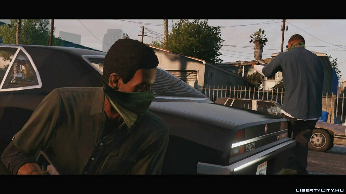Trailer about Franklin (Russian subtitles) for GTA 5 - screenshot #7