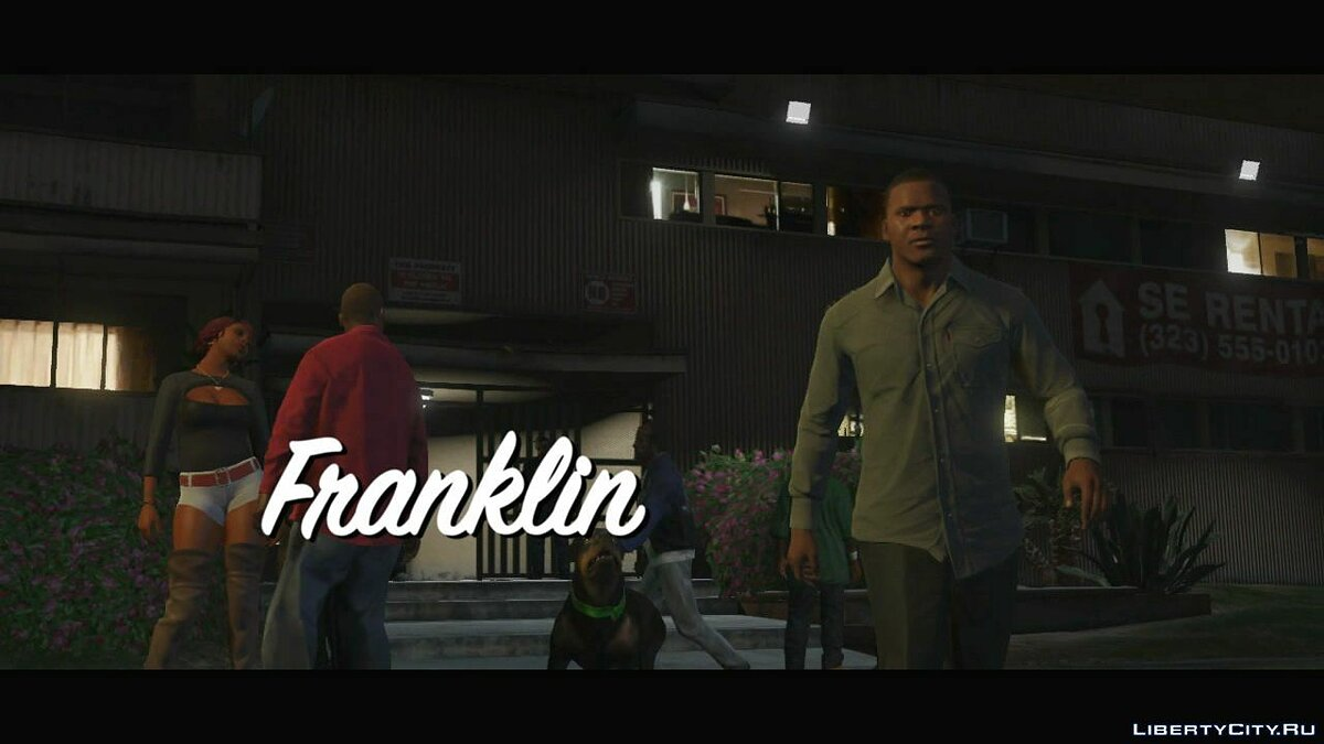 Trailer about Franklin (Russian subtitles) for GTA 5 - screenshot #3