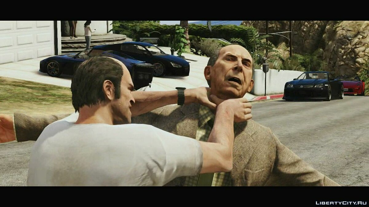 Video Trailer about Trevor (Russian subtitles) for GTA 5